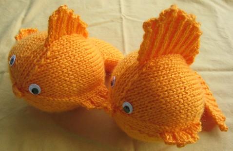 Goldfish Knitting Pattern